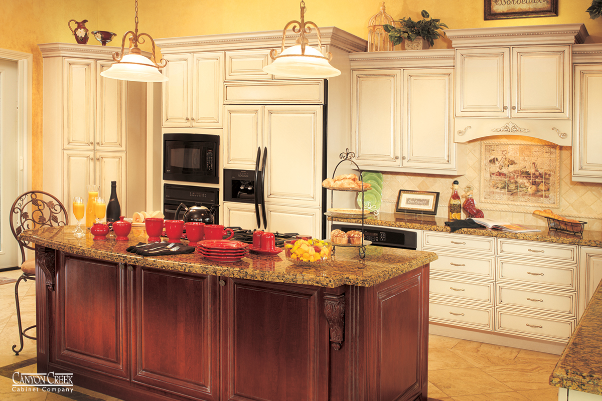 Locking kitchen cabinets locking kitchen cabinet hardware for Canyon creek kitchen cabinets